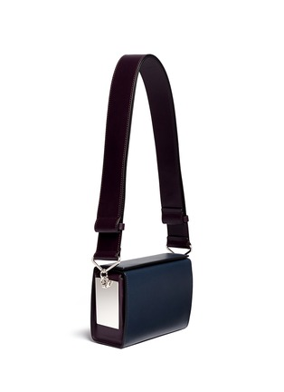 Figure View - Click To Enlarge - Marni - 'Box' mini magnetic flap colourblock leather shoulder bag