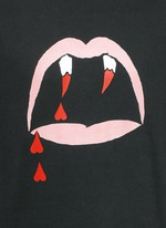 'Blood Luster' print cotton T-shirt