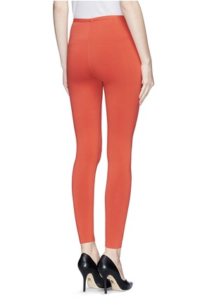 Back View - Click To Enlarge - Alaïa - Stretch knit leggings