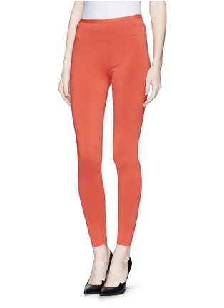 Front View - Click To Enlarge - Alaïa - Stretch knit leggings