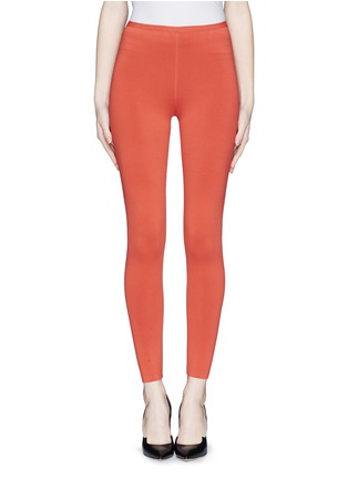 Main View - Click To Enlarge - Alaïa - Stretch knit leggings
