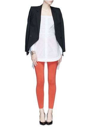 Figure View - Click To Enlarge - Alaïa - Stretch knit leggings