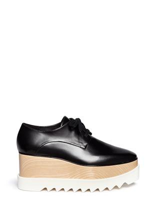 首图 - 点击放大 - STELLA MCCARTNEY - BRITT人造皮革厚底系带鞋