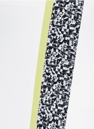 Detail View - Click To Enlarge - Elizabeth and James - 'Bradshaw' asymmetric split pencil skirt