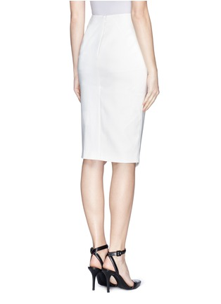 Back View - Click To Enlarge - Elizabeth and James - 'Bradshaw' asymmetric split pencil skirt
