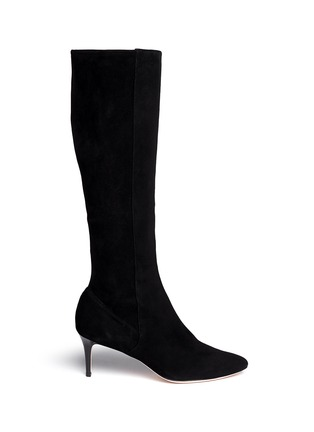 Main View - Click To Enlarge - Cole Haan - 'Elisha' knee-high suede boots