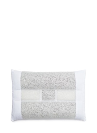 Main View - Click To Enlarge - Moon Viella - Geranium and tourmaline pillow