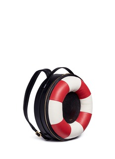 Thom Browne Leather life preserver backpack