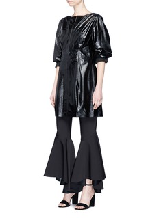 Ellery 'Sin City' button flared pants