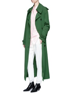 Acne Studios 'Lucie' fluid twill trench coat
