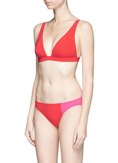 Araks'Enel' colourblock bikini bottoms