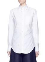 Button down collar cotton Oxford shirt