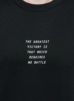 'Victory' print T-shirt