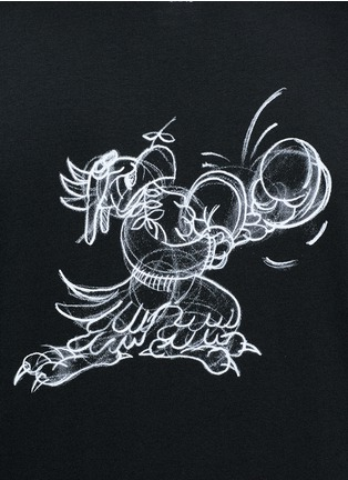 Detail View - Click To Enlarge - OAMC - 'Victory' print T-shirt