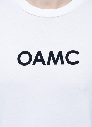 Detail View - Click To Enlarge - OAMC - Bird claw photo print T-shirt