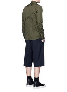 OAMC''Airborne' utility strap cotton shirt