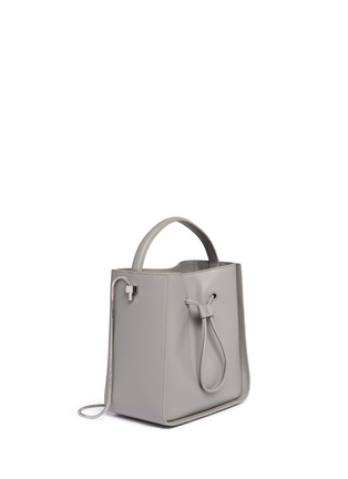 Detail View - Click To Enlarge - 3.1 Phillip Lim - 'Soleil' small leather drawstring bucket bag