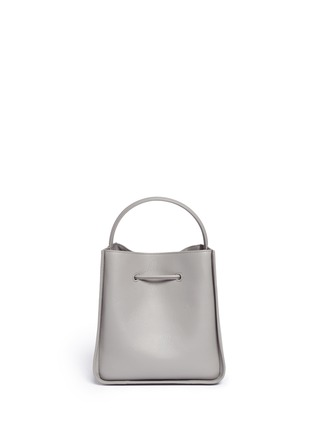 Back View - Click To Enlarge - 3.1 Phillip Lim - 'Soleil' small leather drawstring bucket bag
