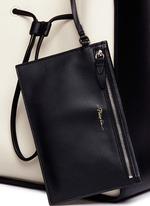 'Soleil' large leather drawstring bucket bag