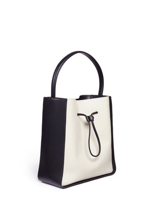 Front View - Click To Enlarge - 3.1 Phillip Lim - 'Soleil' large leather drawstring bucket bag
