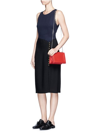 Figure View - Click To Enlarge - 3.1 Phillip Lim - 'Soleil' mini chain leather shoulder bag