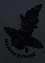 'Airman' flocked velvet patch T-shirt