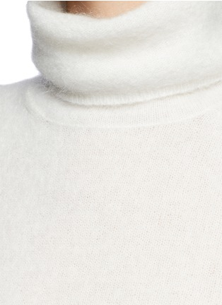 Detail View - Click To Enlarge - Acne Studios - 'Dwyn' mohair blend turtleneck sweater