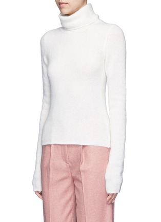 Front View - Click To Enlarge - Acne Studios - 'Dwyn' mohair blend turtleneck sweater