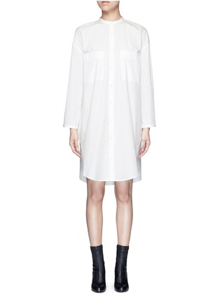 Main View - Click To Enlarge - Acne Studios - 'Esloane' oversized cotton poplin shirt dress