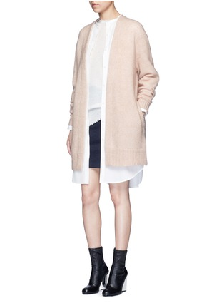 Figure View - Click To Enlarge - Acne Studios - 'Esloane' oversized cotton poplin shirt dress