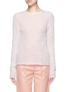 Acne Studios'Valla' mohair blend layered sweater