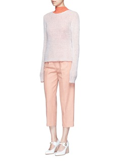 Acne Studios 'Valla' mohair blend layered sweater