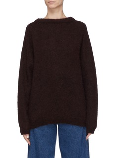 Acne Studios'Dramatic' oversize mohair blend sweater