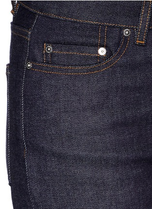 Detail View - Click To Enlarge - Acne Studios - 'Row' cropped boyfriend jeans