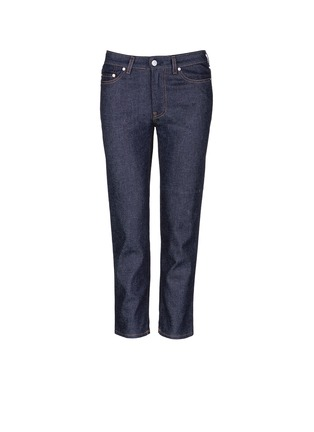 Main View - Click To Enlarge - Acne Studios - 'Row' cropped boyfriend jeans