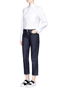 Acne Studios'Row' cropped boyfriend jeans