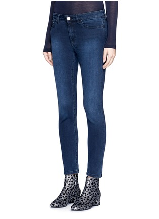 Front View - Click To Enlarge - Acne Studios - 'Skin 5' slim fit jeans