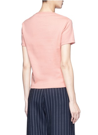 Back View - Click To Enlarge - Acne Studios - 'Edren' boxy cotton T-shirt