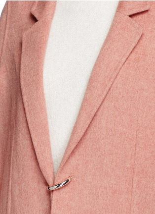 Detail View - Click To Enlarge - Acne Studios - 'Foin' wool-cashmere coat