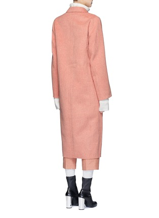Back View - Click To Enlarge - Acne Studios - 'Foin' wool-cashmere coat