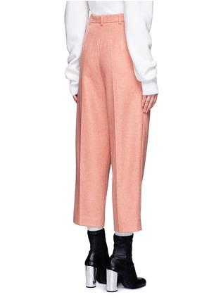 Back View - Click To Enlarge - Acne Studios - 'Milli' wool blend cigarette pants
