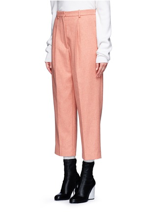 Front View - Click To Enlarge - Acne Studios - 'Milli' wool blend cigarette pants