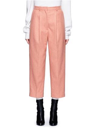 Main View - Click To Enlarge - Acne Studios - 'Milli' wool blend cigarette pants