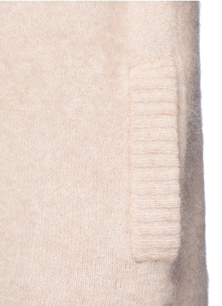 Detail View - Click To Enlarge - Acne Studios - 'Raya' mohair blend cardigan