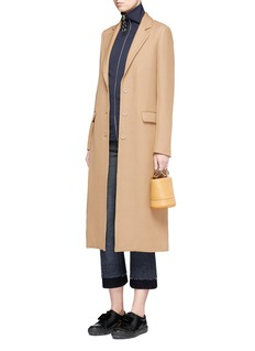 Acne Studios 'Avra' twill tailored long coat