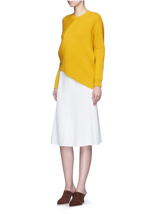 Stella McCartney - Asymmetric virgin wool sweater