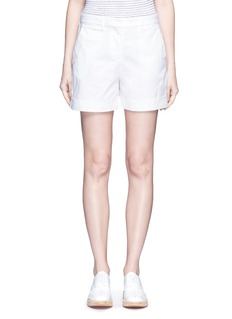 Theory 'Wehnday' stretch chino shorts