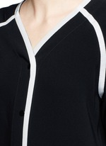 'Varsity' petersham ribbon maxi dress