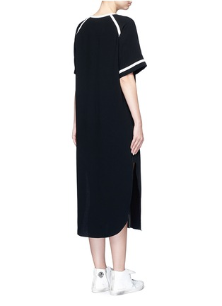 Back View - Click To Enlarge - rag & bone - 'Varsity' petersham ribbon maxi dress