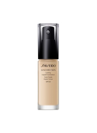 Main View - Click To Enlarge - Shiseido - Synchro Skin Lasting Liquid Foundation SPF20 - Golden 2